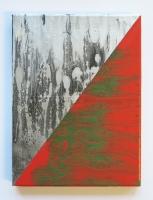 Antologie du clivage residuel, 2016 - acrylique sur toile, 24 x 18 cm