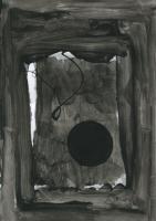 imminent et irreversible, 2020 - acrylique sur papier, 29,7 x 21 cm