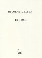 Douze, 2011 -  édition Ripopée