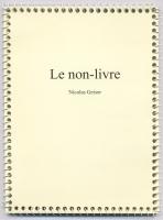 Le non-livre, 2006 - 1/50