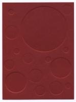 Noyau stable, 2016 - gaufrage sur papier, 70 exemplaires