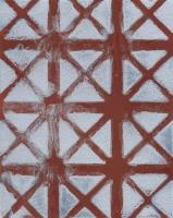 Untitled(rust), 2014 - spray sur papier, 20 exemplaires