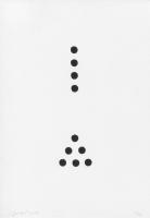 Disque d'accrétion (dark hole),2019 - encre sur papier, 35 exemplaires