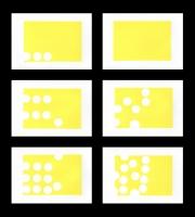 The Rip (n°1, 2, 3, 4, 5, 6), 2019 - linocut, 15 exemplaires de chaque