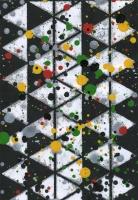 No ground, 2013 - acryl sur papier imprimé, 4 ex.