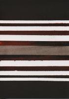 Untitled(stripes), 2013 - spray sur papier, 12 exemplaires