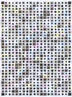 Untitled (SBD), 2013 - acryl sur papier imprimé, 10 ex.
