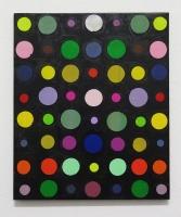RA(dépendance numérique n°6),2018 - acrylique sur toile, 57x47 cm
