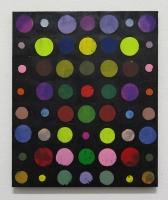 RA(dépendance numérique n°7),2018 - acrylique sur toile, 57x47 cm