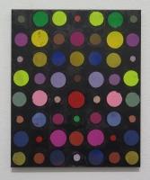 RA(dépendance numérique n°1),2018 - acrylique sur toile, 57x47 cm