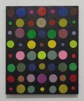 RA(dépendance numérique n°2),2018 - acrylique sur toile, 57x47 cm