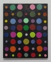RA(dépendance numérique n°3),2018 - acrylique sur toile, 57x47 cm