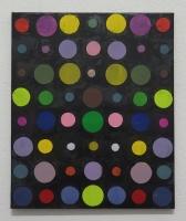 RA(dépendance numérique n°4),2018 - acrylique sur toile, 57x47 cm