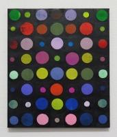 RA(dépendance numérique n°5),2018 - acrylique sur toile, 57x47 cm