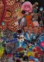 n°11 - collage sur papier, A3, 2010