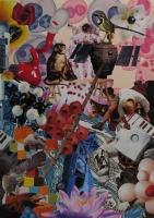 n°10 - collage sur papier, A3, 2010