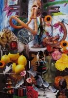 n°7 - collage sur papier, A3, 2010