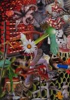 n°6 - collage sur papier, A3, 2010