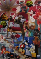 n°3 - collage sur papier, A3, 2010