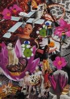 n°2 - collage sur papier, A3, 2010