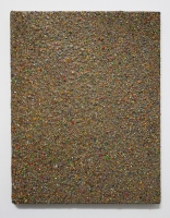 Multichrome n°1, 23 x 18 cm - particules d'acryl sur toile, 2016