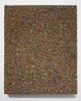 Multichrome n°10, 20 x 16,5 cm - particules d'acryl sur toile, 2017