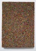 Multichrome n°11, 23,5 x 17 cm - particules d'acryl sur toile, 2017