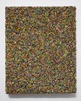 Multichrome n°4, 20 x 16,5 cm - particules d'acryl sur toile, 2017