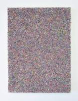 Multichrome n°5, 24 x 17 cm - particules d'acryl sur toile, 2017