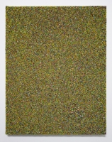 Multichrome n°9, 50 x 40 cm - particules d'acryl sur toile, 2017
