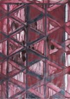 R4 - 2009 - acrylique sur papier imprimé